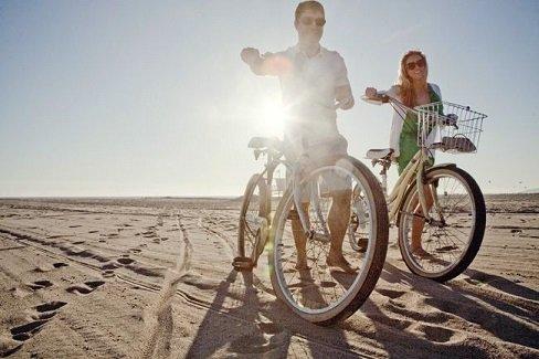 strand fietsen